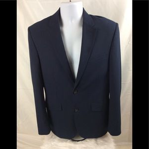 Perry Ellis navy blue sports coat. Really nice.